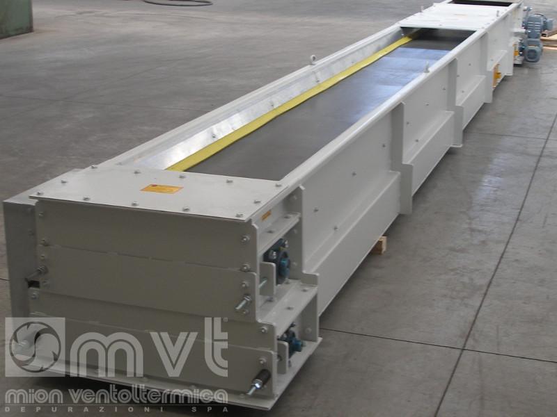 Nastro trasportatore in gomma conveyor belt