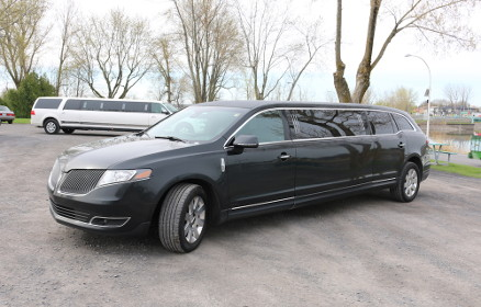 Black Lincoln MKT Stretch Limousine
